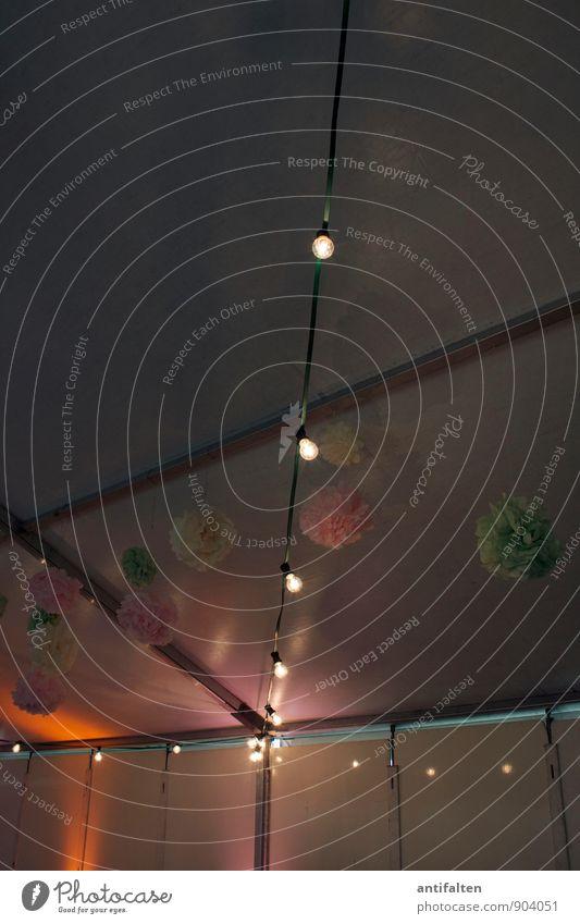 Deko & Schnickschnack Freude gelb Feste & Feiern Party glänzend orange Dekoration & Verzierung leuchten Geburtstag Tanzen Fröhlichkeit Lebensfreude Papier Hochzeit Kitsch Kunststoff