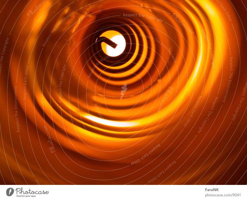 Spirale gelb Fototechnik