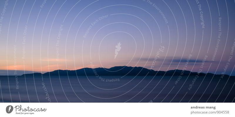 letztes Rot Ferien & Urlaub & Reisen Meer Einsamkeit Landschaft Ferne Bewegung Küste Freiheit Stimmung Idylle Zufriedenheit Tourismus ästhetisch Insel Ausflug
