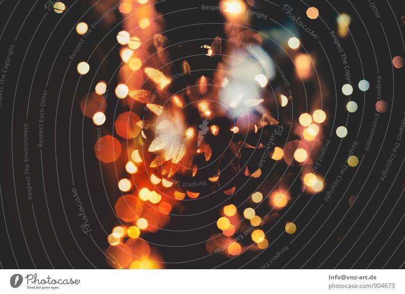 Lights schön Weihnachten & Advent Wärme Stil Feste & Feiern glänzend Veranstaltung Silvester u. Neujahr Kugel kuschlig Lichterkette