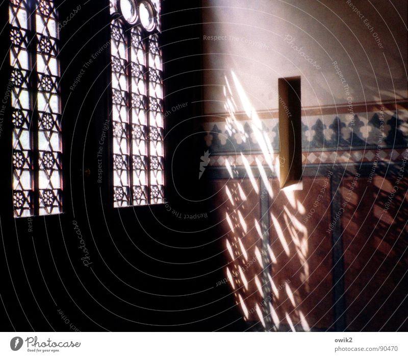 Berliner Licht Design Innenarchitektur Deutschland Europa Bauwerk Gebäude Architektur Synagoge Gotteshäuser Mauer Wand Tür Sehenswürdigkeit Zeichen Ornament