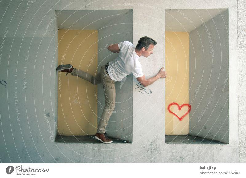 gefunden Freizeit & Hobby Valentinstag Hochzeit Mensch maskulin Mann Erwachsene Paar Partner Leben Körper 1 30-45 Jahre Herz Küssen Liebe Sex Erotik