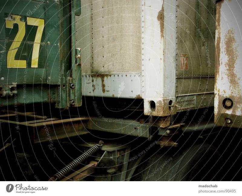 2TWENTYSEVEN7 Güterverkehr & Logistik Typographie Beschriftung Stahl zusätzlich Komplementärfarbe mehrfarbig Ecke Lastwagen Ziffern & Zahlen Jubiläum Feiertag
