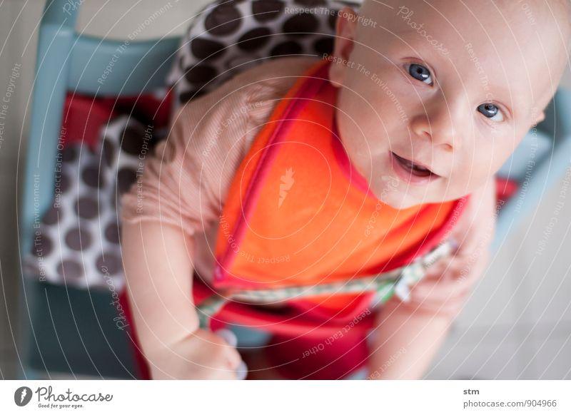 we proudly present .... Kind Baby Familie & Verwandtschaft Kindheit Leben 1 Mensch 0-12 Monate T-Shirt Lätzchen Glatze Gefühle Zufriedenheit Lebensfreude