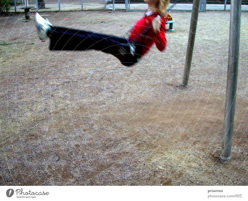 schaukeln Mensch Spielen Schaukel Spielplatz