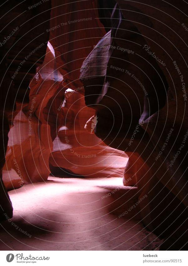 Antelope Canyon III, Arizona, USA Natur Sonne Stein Beleuchtung Felsen Amerika Schlucht Felswand geschliffen
