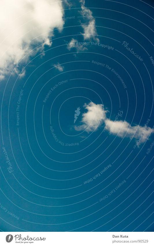 Mutter und Kind Himmel blau Freude Wolken Einsamkeit Ferne Glück träumen Luft Zusammensein frei frisch Unendlichkeit genießen leicht steigen