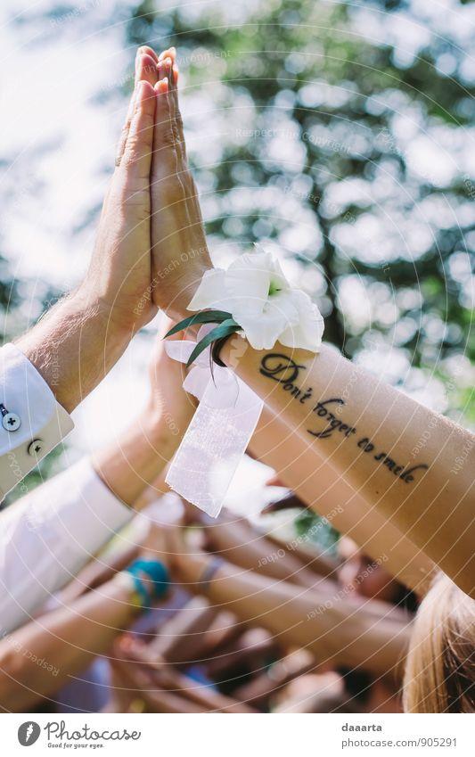 Tattoo elegant Stil Freude Freizeit & Hobby Spielen Ausflug Abenteuer Freiheit Veranstaltung Feste & Feiern Flirten Hochzeit Arme Hand Natur Landschaft