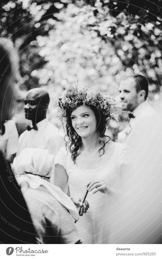 Brautblumen elegant Stil Leben harmonisch Erholung Freizeit & Hobby Spielen Abenteuer Freiheit Veranstaltung Feste & Feiern Flirten Hochzeit feminin Umwelt