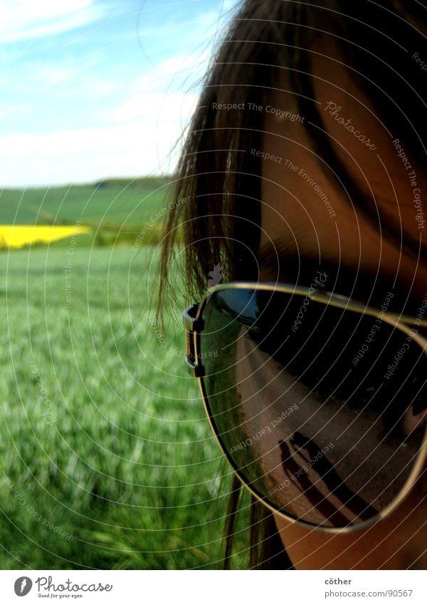 Casting shadows Auge Frühling Brille
