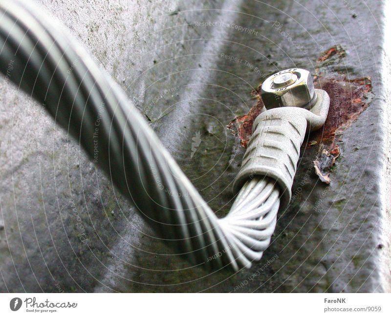 Erdung Schraube Stahl Eisen Elektrisches Gerät Technik & Technologie Kabel