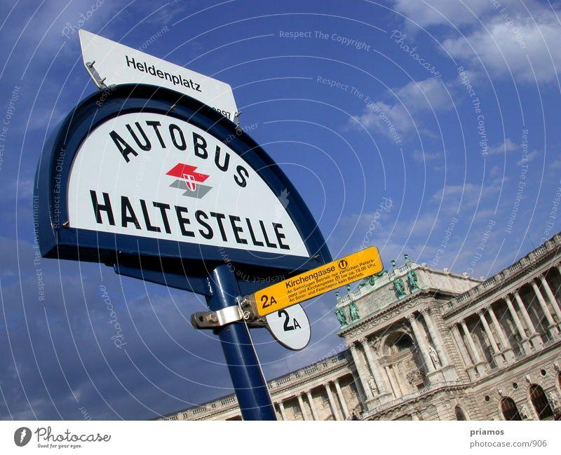 Heldenplatz Architektur Station Wien Barock