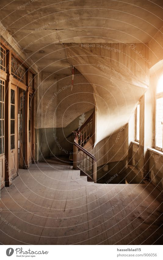 up to the ... alt Erholung ruhig Haus Fenster Wand Stil Mauer Lifestyle Wohnung Design Treppe Häusliches Leben Tür Baustelle historisch
