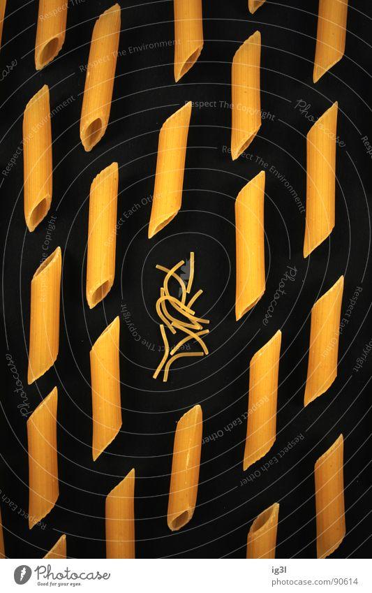 außenseiter schwarz Einsamkeit gelb Ernährung Denken Lebensmittel Hintergrundbild kaputt einzigartig Kontakt Reihe Grenze Verbindung Richtung Teilung dumm