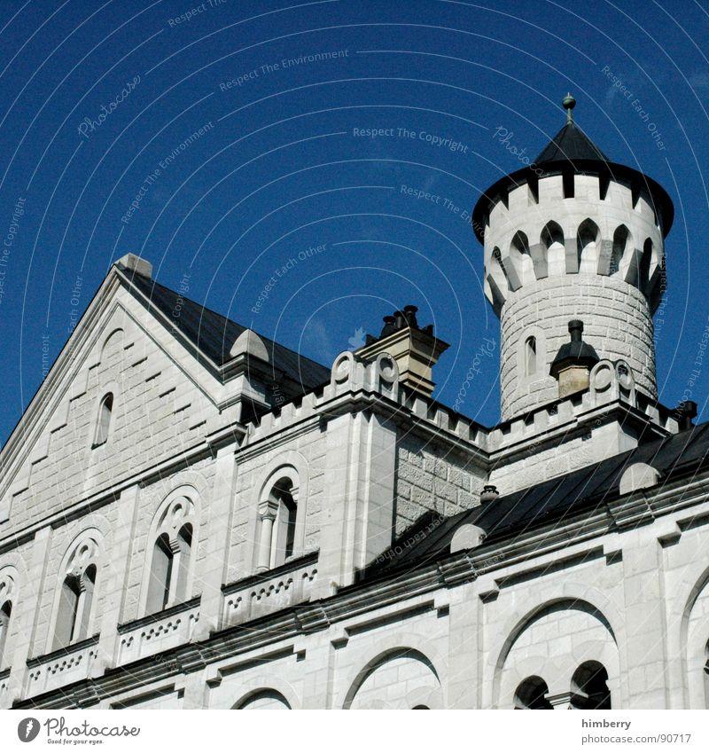 eternal mystery III Neuschwanstein Palast Rückzug Wachturm historisch Wahrzeichen Denkmal Burg oder Schloss castle king prince palace Turm König princess