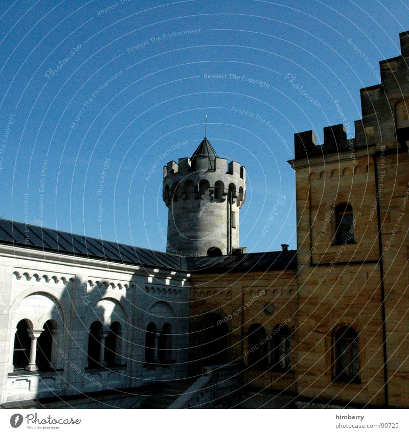 eternal mystery IV Neuschwanstein Palast Rückzug Wachturm historisch Wahrzeichen Denkmal Burg oder Schloss castle king prince palace Turm König princess kingdom