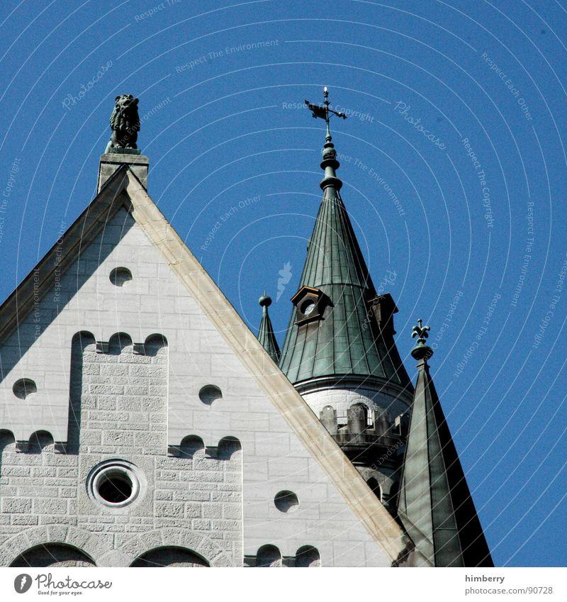 eternal mystery V Neuschwanstein Palast Rückzug Wachturm historisch Wahrzeichen Denkmal Burg oder Schloss castle king prince palace Turm König princess kingdom