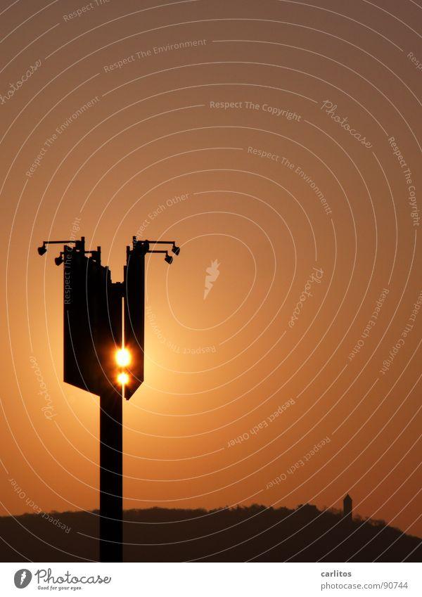 Leuchttransparent Sonne Wärme Horizont Kraft Schilder & Markierungen Industrie Physik Werbung Handwerk Handel Scheinwerfer Arbeitsplatz Eyecatcher