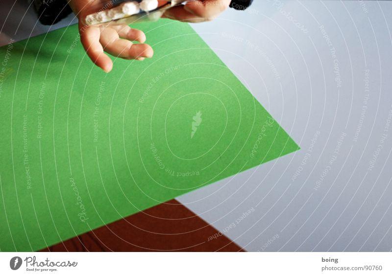 Tessa im Tessin Papier Schreibstift Gemälde zeichnen mehrfarbig Farbe Grafik u. Illustration freihändig Finger Kind Kindergarten Bildung Wachsmalstift