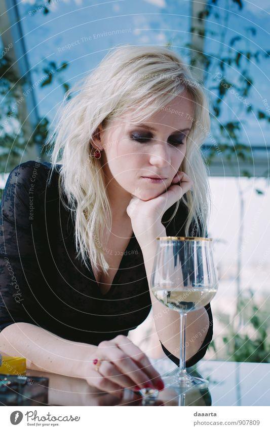 Pflanze schön Erotik Wärme feminin Stil Denken außergewöhnlich Feste & Feiern Freizeit & Hobby Lifestyle elegant Design modern blond Erfolg