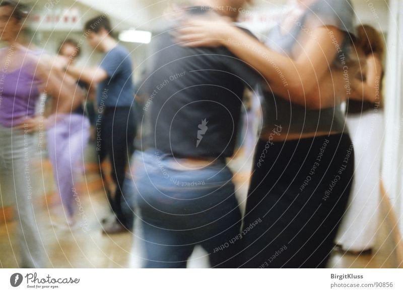 Tanzstunde Freude Tänzer Bewegung Tanzen Kunst Körperhaltung Freizeit & Hobby Kultur berühren führen Drehung Führer Tangotänzer Tanzschule