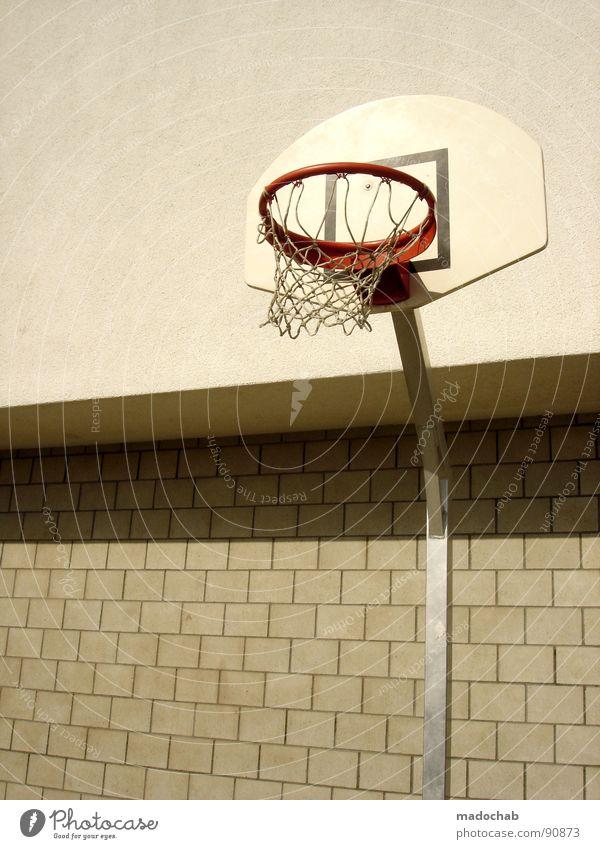 SCHACH ROCKT! Hand Sommer Freude Sport Spielen lustig Netz Freizeit & Hobby Sportveranstaltung Surrealismus Korb Basketball Saison toben transpirieren Schweiß