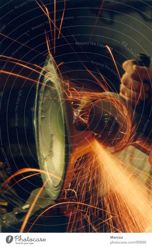 Soundworks Arbeit & Erwerbstätigkeit obskur Lautsprecher Maschine Klang Funken Kontrabass