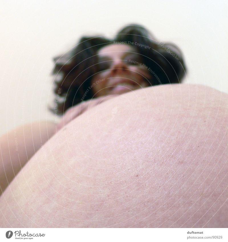 Mutterglück 1 Erwachsene Gesundheit Baby Haut Sicherheit schwanger Erwartung Akt Familie & Verwandtschaft Nachkommen Wölbung Oberkörper Eltern Weiblicher Akt