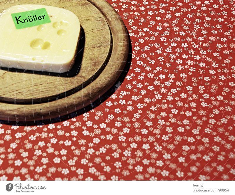 Werbetexter in dritter Generation Werbung Marketing Käse Emmentaler Gouda verpackt einpacken Cellophan Schneidebrett Sportveranstaltung Konkurrenz Attraktion