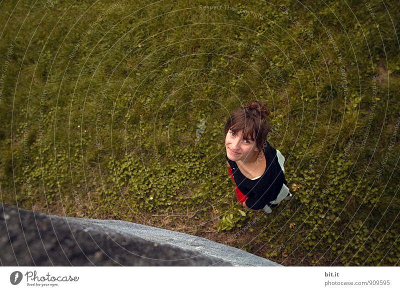 Mona Wiesa Mensch Kind Ferien & Urlaub & Reisen Jugendliche Junge Frau Freude Mädchen Wiese feminin Glück Garten Schule Zufriedenheit Tourismus 13-18 Jahre