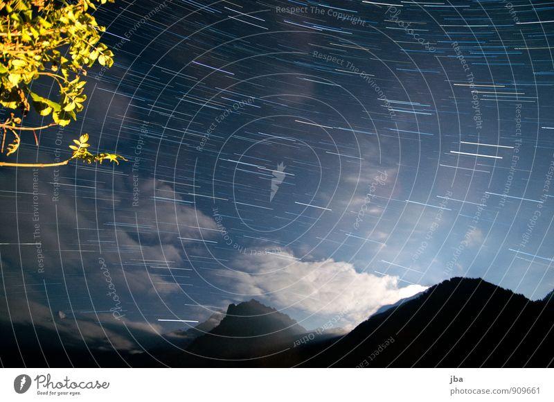 Nachthimmel 25 Min. Himmel Natur Sommer Erholung Landschaft Blatt ruhig Wolken Ferne Berge u. Gebirge Herbst Bewegung Zeit Nebel Tourismus Ast