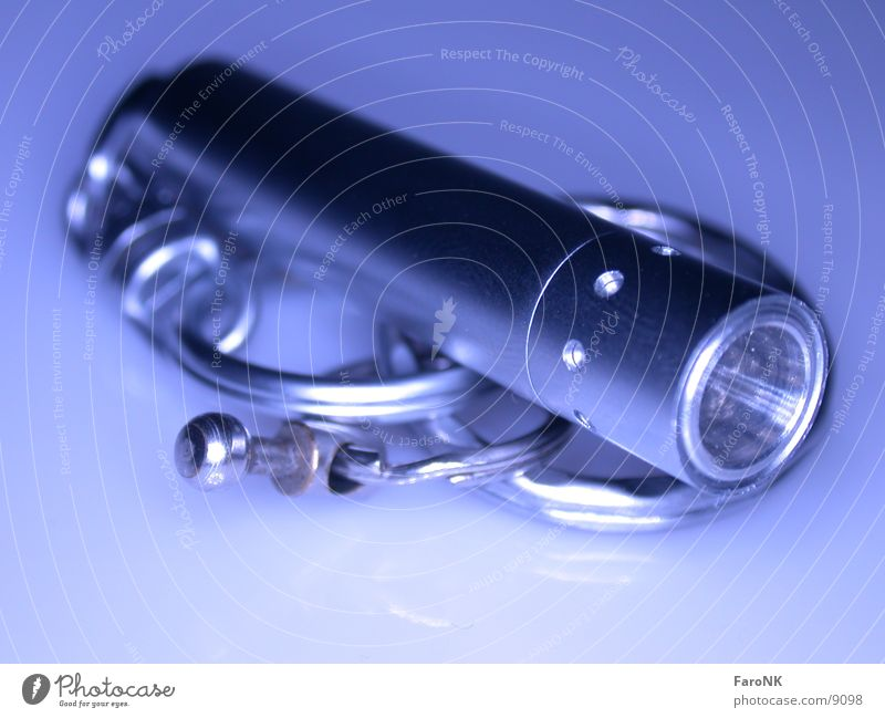 LED Lenser blau Lampe Dinge Leuchtdiode