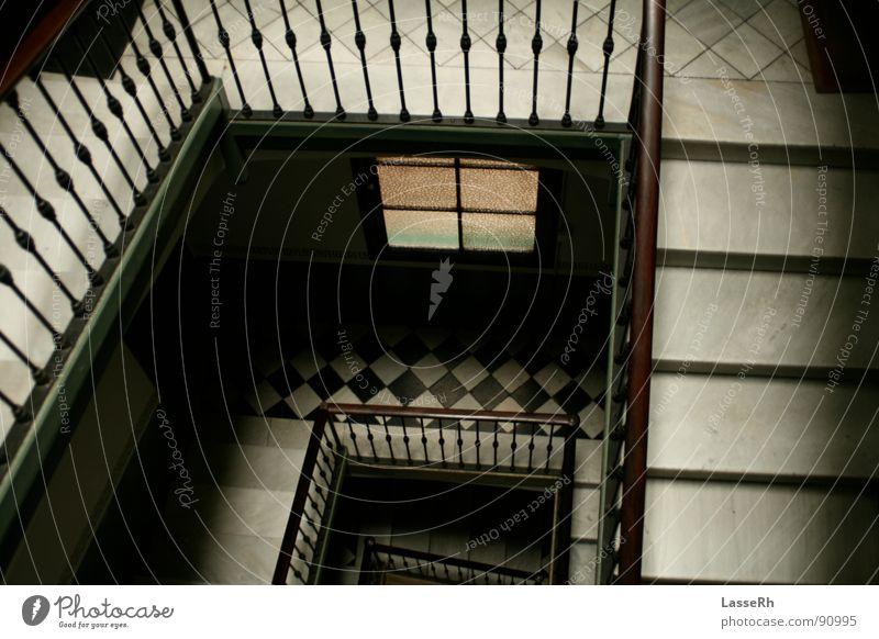 Spanische Treppen Spanien Treppenhaus Barcelona Architektur Stairs Spain Geländer