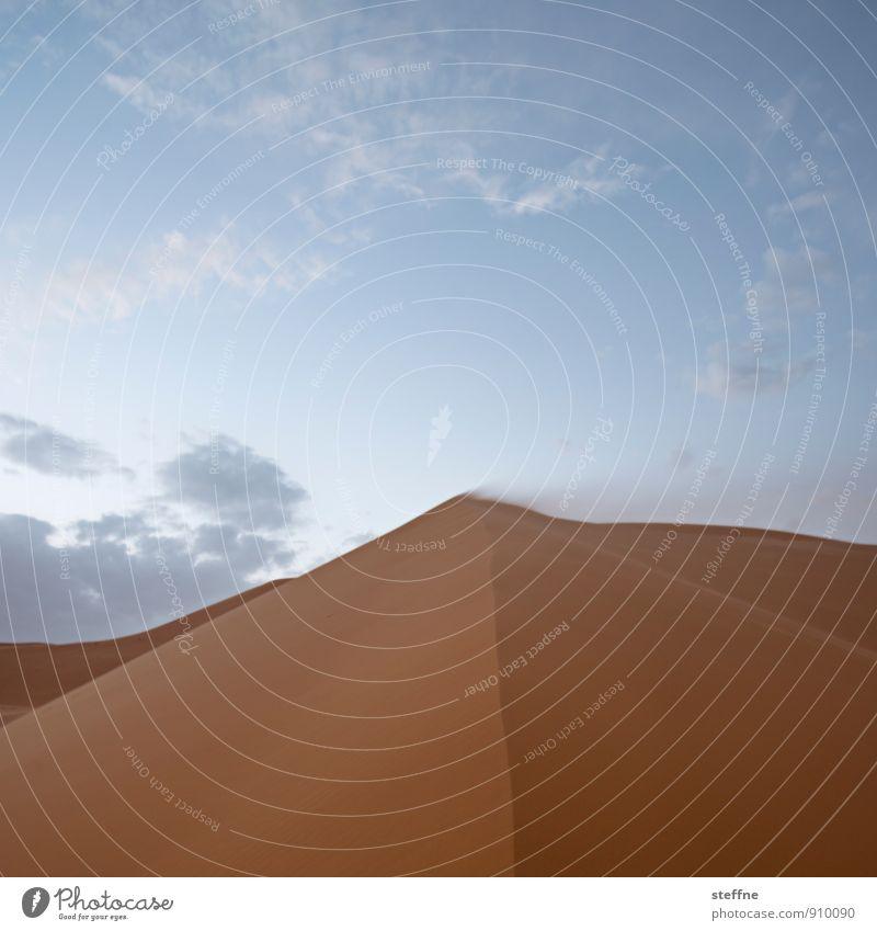 Wüste (1/10) Himmel Ferien & Urlaub & Reisen Wärme Sand Tourismus Wind Abenteuer Düne Durst Naher und Mittlerer Osten Arabien Marokko Sahara Sandsturm Tunesien