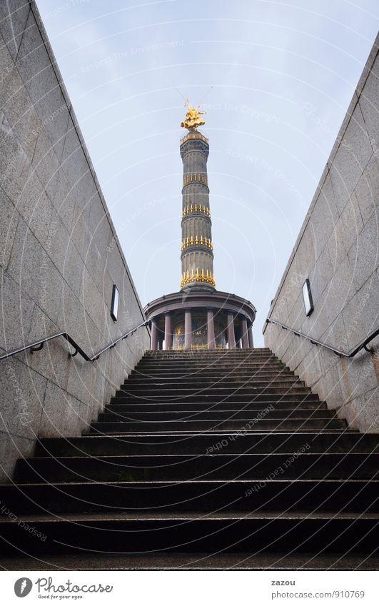 Träume in Beton Stadt Berlin Tourismus Turm Bauwerk Denkmal Wahrzeichen Hauptstadt Sehenswürdigkeit Berlin-Mitte Siegessäule