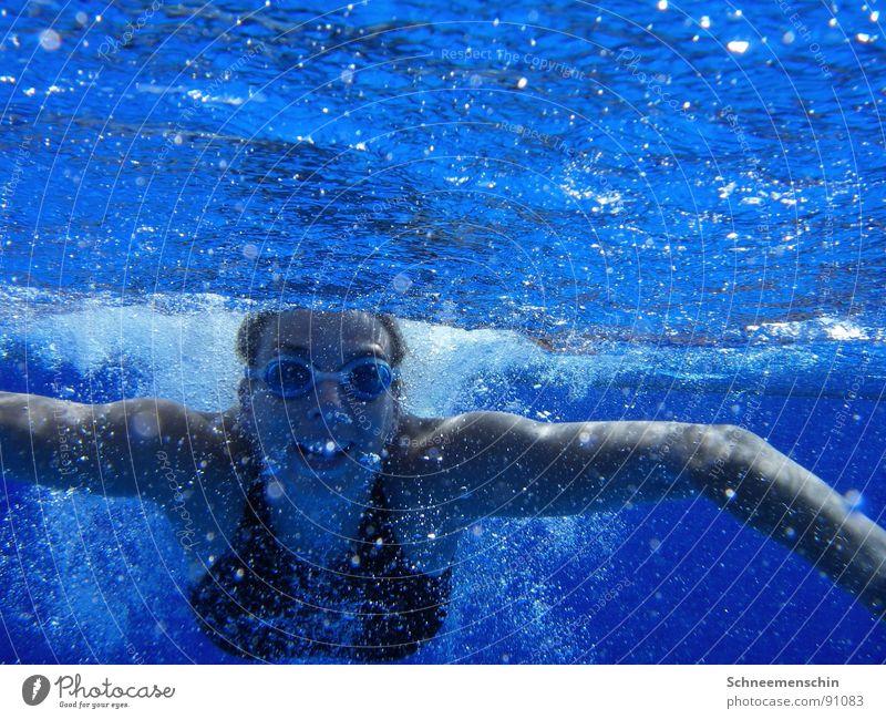 in the blue blau Wasser Ferien & Urlaub & Reisen Sport Freizeit & Hobby Schwimmen & Baden Wellness tauchen Wassersport Spa