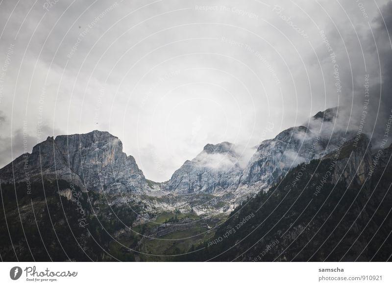 Berglandschaft Natur Ferien & Urlaub & Reisen Landschaft Wolken Ferne Umwelt Berge u. Gebirge natürlich Freiheit Felsen wild Fahrrad Tourismus wandern hoch