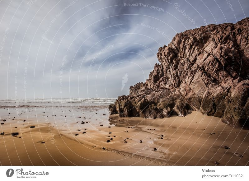 Fels in der Brandung II Ferien & Urlaub & Reisen Sommer Meer Landschaft Strand Küste Felsen Tourismus Abenteuer entdecken Marokko