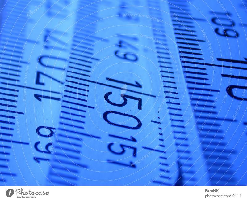 1,50 Ziffern & Zahlen Meter Zollstock Makroaufnahme Nahaufnahme