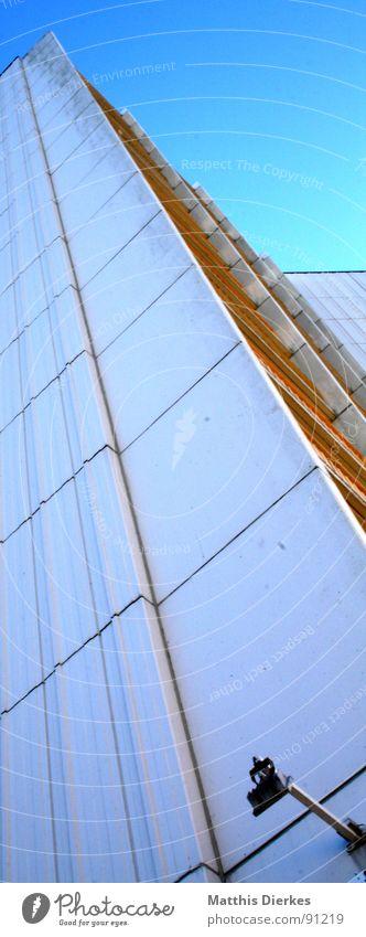 FASSADE Himmel Ferien & Urlaub & Reisen Stadt blau weiß Landschaft Strand Umwelt Architektur Beleuchtung Gebäude grau Lampe Linie oben Sand