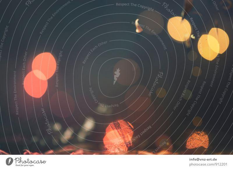Glitter Feste & Feiern Weihnachten & Advent Silvester u. Neujahr glänzend gold Lichterkette bokeh Weihnachtsdekoration Dynamik Farbfoto Nahaufnahme Menschenleer