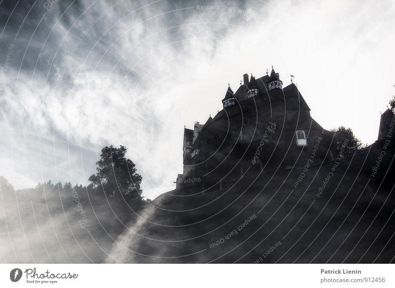 Burg Elz Himmel Landschaft Wolken Umwelt Wand Architektur Gebäude Mauer Felsen Luft Urelemente Schutz Hoffnung Sicherheit Neugier Burg oder Schloss