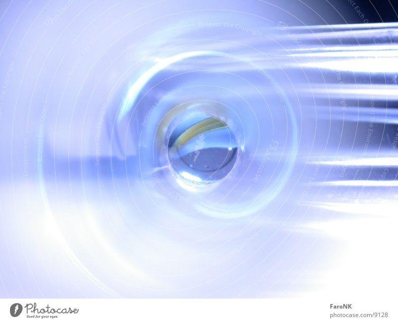 Murmel blau Glas