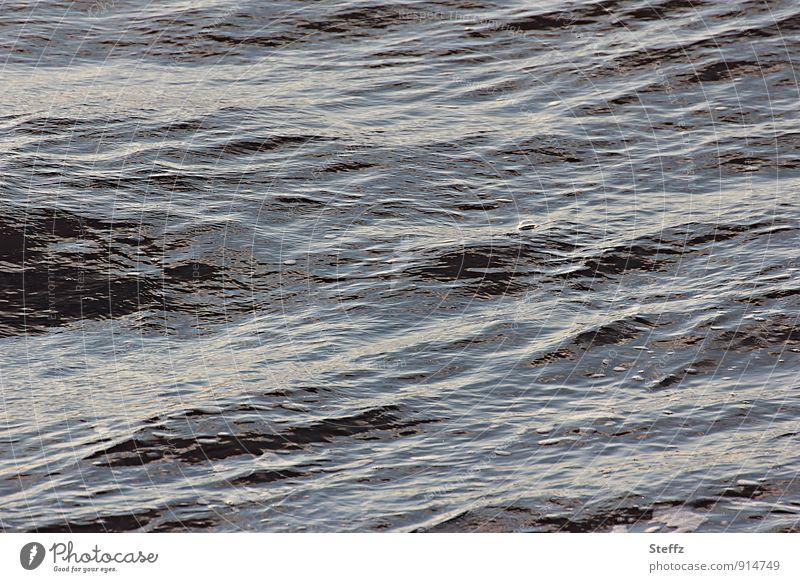 blubb Natur Urelemente Wasser Wellen Nordsee Meer Meerwasser Luftblase Blubbern Wasseroberfläche wellig Reflexion & Spiegelung Lichteinfall Blase