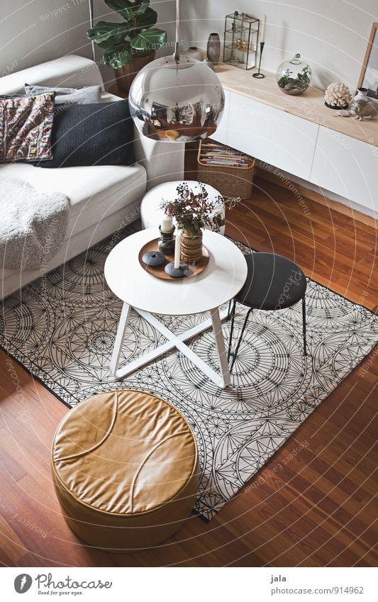 wohnraum Lifestyle Stil Häusliches Leben Wohnung einrichten Innenarchitektur Dekoration & Verzierung Möbel Lampe Sofa Tisch Raum Wohnzimmer ästhetisch modern