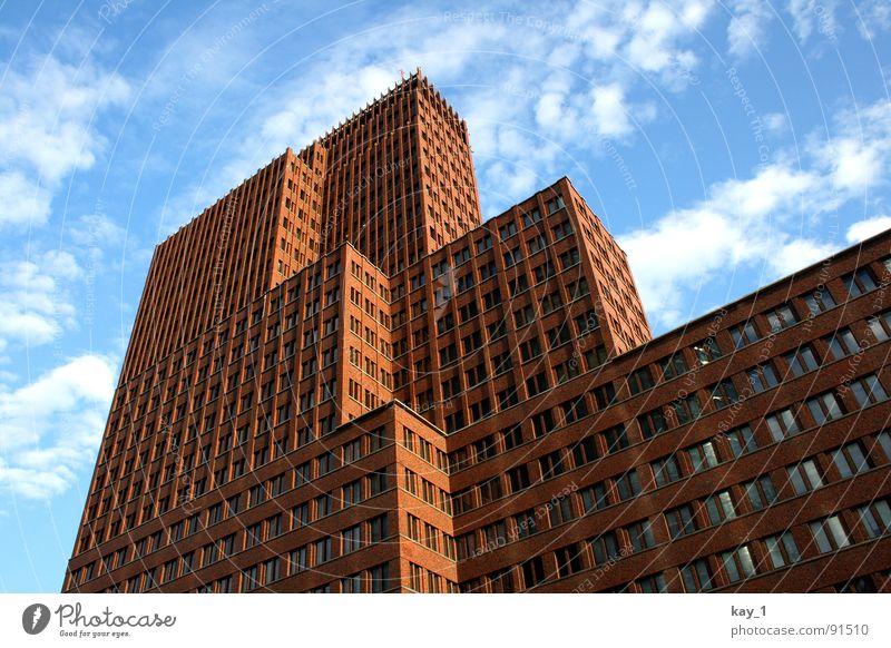 Treppenhaus Haus Berlin Fenster Deutschland Hochhaus Skyline Hauptstadt Bürogebäude Potsdamer Platz