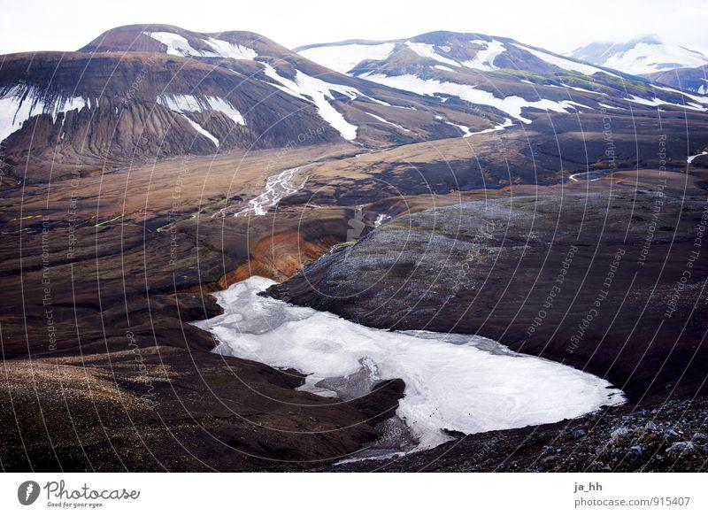 Island III Ferien & Urlaub & Reisen Tourismus Ausflug Abenteuer Ferne Freiheit Insel Winter Schnee Berge u. Gebirge wandern Umwelt Natur Landschaft Urelemente