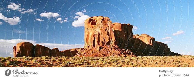 Marlboro Country Himmel blau Sommer Ferien & Urlaub & Reisen Wolken Berge u. Gebirge Freiheit Felsen Landschaftsformen USA Wüste Hügel Blauer Himmel Pol- Filter