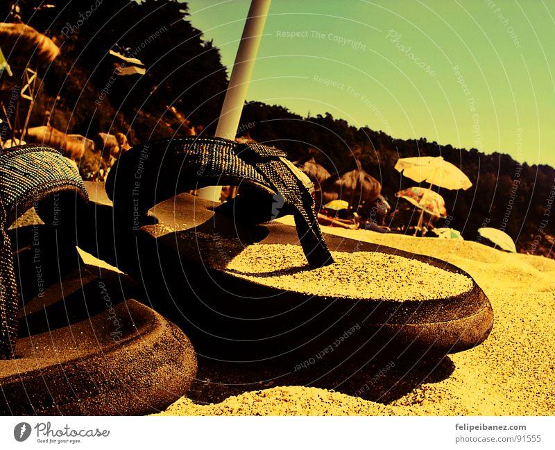 """chalupas"" Strand Farbe Sand Küste"