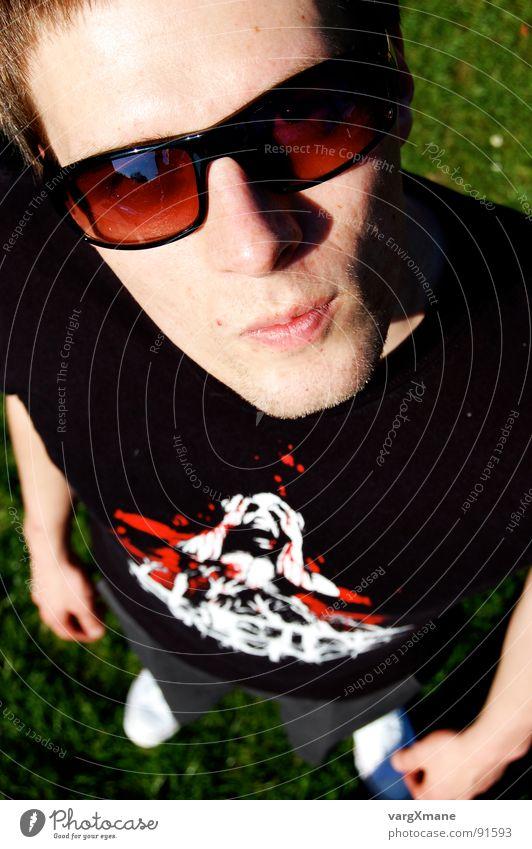 Flois1337 Mann Sommer Gesicht Wärme Physik Typ Sonnenbrille lässig